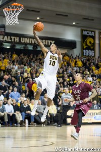 VCU's defeated Saint Joseph's 92-86 in an overtime thriller the last time the Hawks visited the Siegel Center.