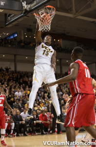 Juvonte Reddic will represent VCU and is one of three A-10 players in this year's NABC All-Star Game.