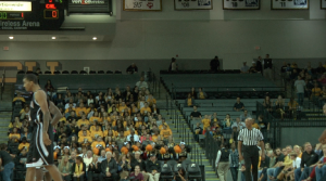 All of VCU's student ticket allotment were claimed for VCU's exhibition versus Cal U (PA), but many went unused.