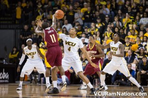 FSU transfer Terrance Shannon will face his former team this Thursday in VCU's opening-round game.