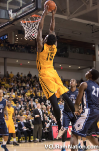 Juvonte Reddic was unstoppable for VCU, posting 24 points to go with 12 rebounds in the win.