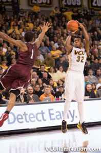 Melvin Johnson led VCU with 13 points off the bench in tonight's win.
