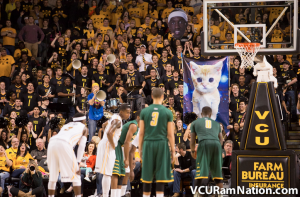 In the end, VCU and Space Kitty proved too much for George Mason in tonight's A-10 opener.