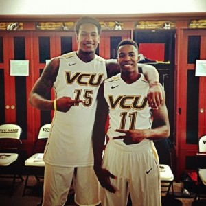 Juvonte Reddic and Rob Brandenberg are set to become the only two players to ever play in four consecutive NCAA tournaments at VCU.