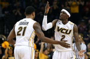 VCU senior duo, Treveon Graham & Briante Weber, are A-10 First-Team selections heading into their final season.