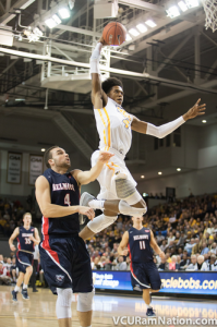 Freshmen Justin Tillman posted a career-high 16 points in tonight's win.