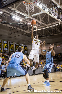 VCU has yet to lose to Rhode Island since joining the Atlantic 10. A win tonight will give either team first place in the A-10 at a record of 4-0.