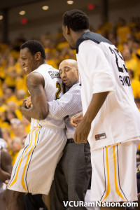 Treveon Graham led VCU with 26 points in tonight's gutsy win at Rhode Island.
