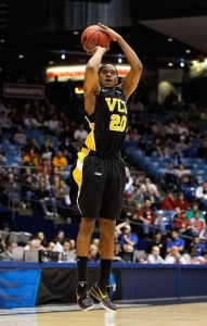 "VCU's Bradford Burgess earned the nickname ""Big Shot"" Brad during his time at VCU but hit no bigger shot than the game winner against FSU to send VCU to their first-ever Elite 8 appearance in 2011."