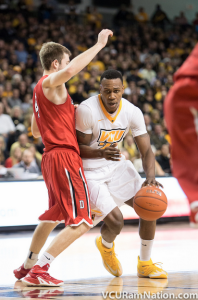 VCU will need to complete a season sweep of Davidson if they want to win their first Atlantic 10 regular season title.