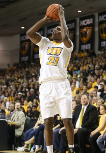 Treveon Graham led all players with a game-high 23 points in his final game at the Siegel Center.