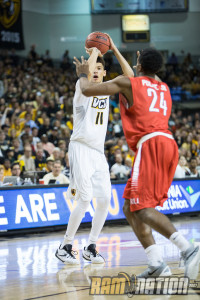 Sophomore Michael Gilmore scored a career-high 12 points on 4-4 shooting in his 16 minutes of action.