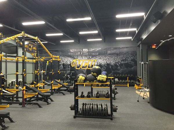 Weight room pic. Photo courtesy of Mark Newfield.