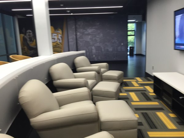 Park of the women's lounge. Photo Courtesy Mark Newfield.