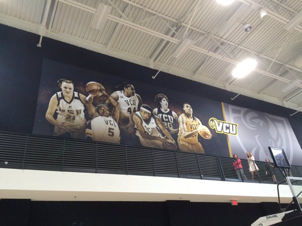 Women's court wall mural. Photo courtesy of Around the Horns.