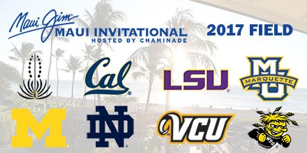 Rams To Compete In 2017 Maui Invitational Vcu Ram Nation