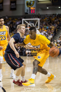 Melvin Johnson leads VCU with a team-high 17.9 points per contest this season.