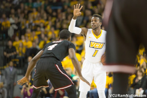 VCU escaped UMass, 78-72, this past year at the Stuart C. Siegel Center, getting 15 points from JeQuan Lewis.