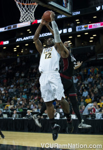 Mo Alie-Cox is on pace to become VCU's all-time leader in career field goal percentage at VCU.