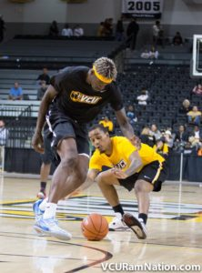 Sanders and Theus last hit the court together, albeit on opposing teams in this past October's VCU Alumni Game.