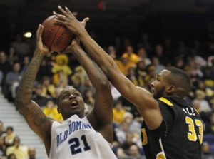 ODU's Frank Hassell joins Seven City Grain. He scored 22 points against the Rams in the 2011 CAA Final, his second win over the Rams that season.