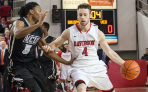 2015 A-10 Player of the Year Tyler Kalinoski will lead Davidson's first alumni team in this year's TBT.