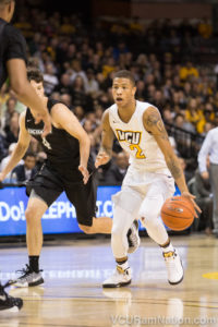 Redshirt freshman Samir Doughty finished with a career-high 12 points in VCU's win over LSU.