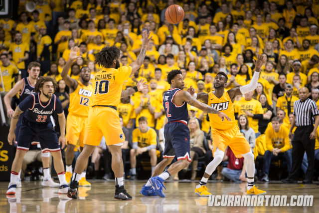 VCU defeats Richmond, 81-74