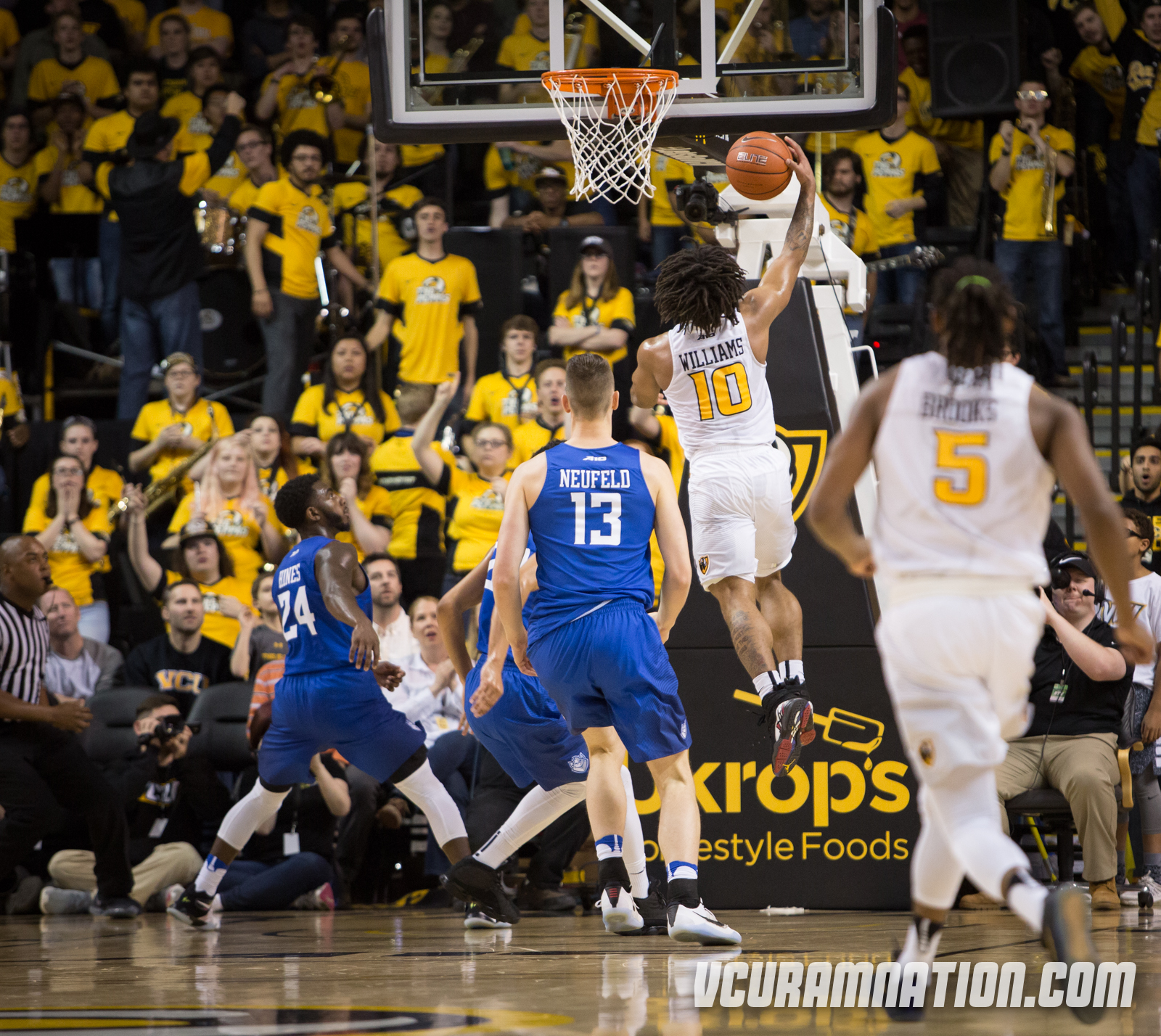 Williams leads Rams to victory over Billikens, 64-50 - Ram Nation